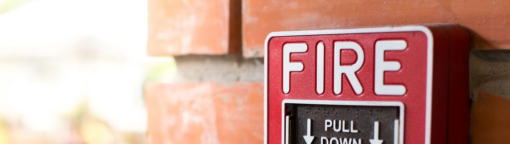 workplace security fire alarm image