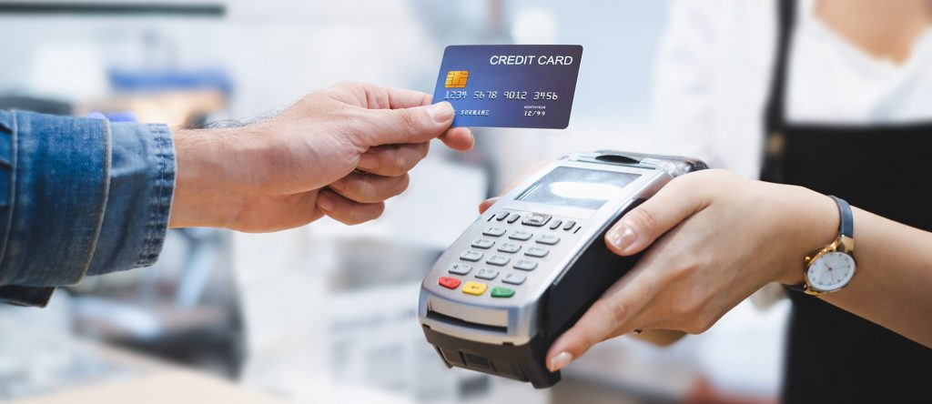 PCI Compliance Image, Hand Holding Credit Card