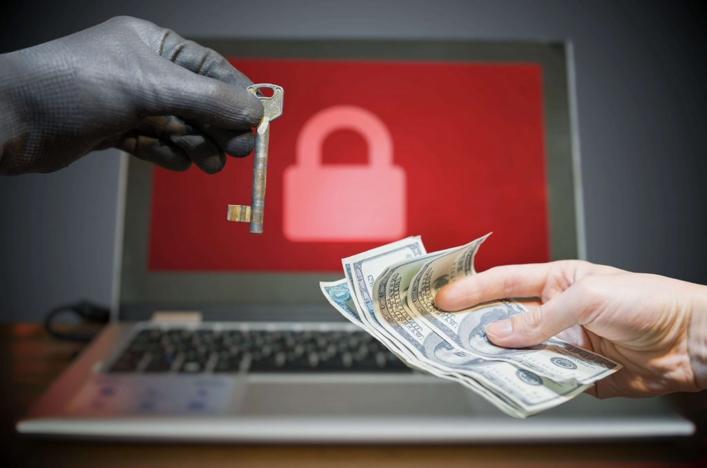 Hacked business owner pays hacker ransomware