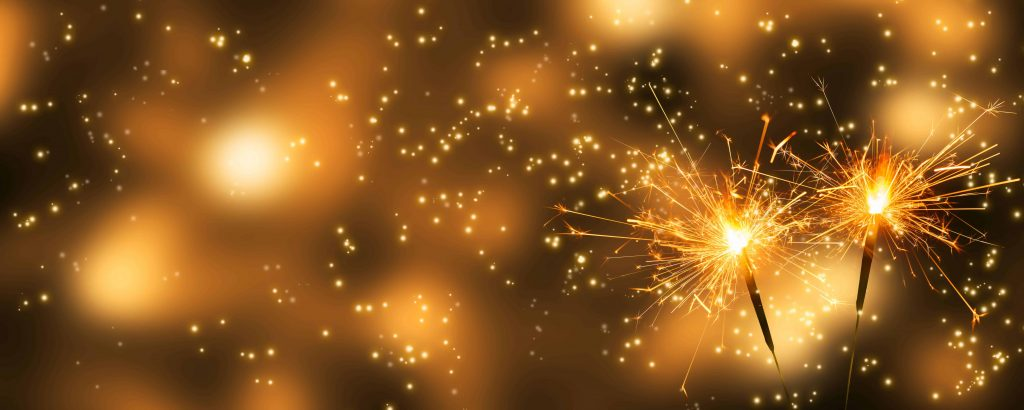 We're celebrating our top blog posts of 2019. The image reflects our excitement, as it contains sparklers lit up against a black background with orange and yellow colors.