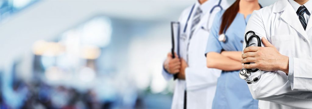 Telemedicine allows doctors to remotely assist their clients, just as the doctor is doing here.