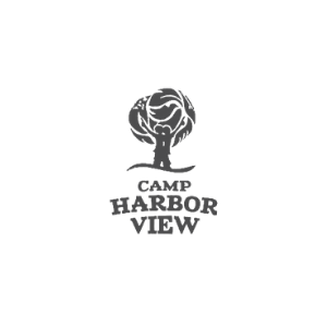 Camp harbor view logo_gray2